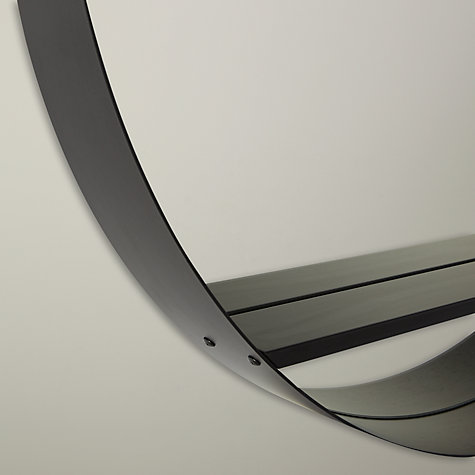Buy Design Project By John Lewis Circle Mirror With Shelf Black John Lewis