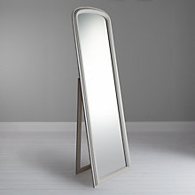 Buy John Lewis Croft Collection Freestanding Full Length Mirror, White Online at johnlewis.com