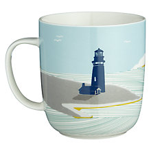 Buy John Lewis Coastal Light House Mug Online at johnlewis.com