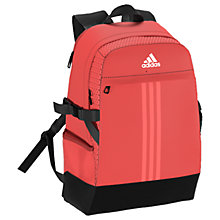 Buy Adidas Power III Medium Sports Backpack, Coral Online at johnlewis.com