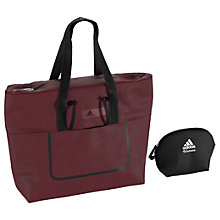 Buy Adidas Better Solid Tote Bag, Maroon Online at johnlewis.com