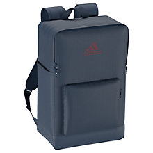Buy Adidas 3-Stripes Performance Backpack Bag, Blue Online at johnlewis.com