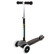 Buy Frenzy Light-Up 3-Wheel Scooter, Black Online at johnlewis.com