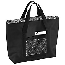 Buy Adidas Good Graphic Tote Bag, Black Online at johnlewis.com