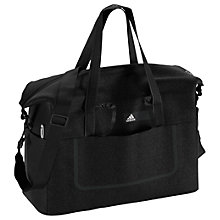 Buy Adidas Better Solid Team Sports Bag, Black Online at johnlewis.com
