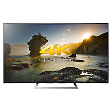 "Buy Sony Bravia 50SD8005 Curved LED HDR 4K Ultra HD Android TV, 50"" With Youview/Freeview HD, Playstation Now & Slim Design Online at johnlewis.com"