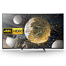 "Buy Sony Bravia 50SD8005 Curved LED HDR 4K Ultra HD Android TV, 50"" With Youview/Freeview HD & Slim Design Online at johnlewis.com"