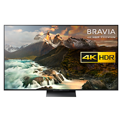 "Sony Bravia 65ZD9BU LED Premium HDR 4K Ultra HD 3D Android TV, 65"", With Youview/Freeview HD, 4K HDR Processor X1 Extreme & Black Slate Design"