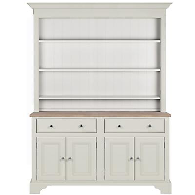 Neptune Chichester 5ft Open Rack Dresser, Shingle