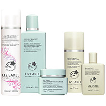 Buy Liz Earle Cleanse & Polish™ Rose & Lavender, Skin Tonic and Moisturiser with Gifts Online at johnlewis.com