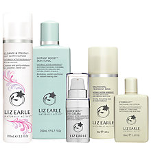 Buy Liz Earle Cleanse & Polish™ Rose & Lavender, Skin Tonic and Eye Cream with Gifts Online at johnlewis.com