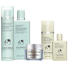 Buy Liz Earle Cleanse & Polish™, Skin Tonic and Moisturiser with Gifts Online at johnlewis.com