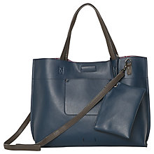 Buy White Stuff Christie Reversible Tote Bag, Navy Online at johnlewis.com