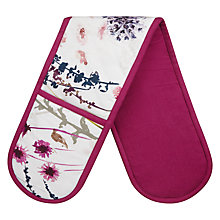 Buy John Lewis Floral Double Oven Glove Online at johnlewis.com
