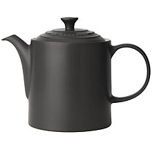 Buy Le Creuset Stoneware Grand Teapot 1.3L Online at johnlewis.com