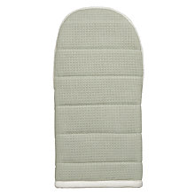 Buy John Lewis Croft Collection 'Seeds' Oven Mitt, White / Green Online at johnlewis.com