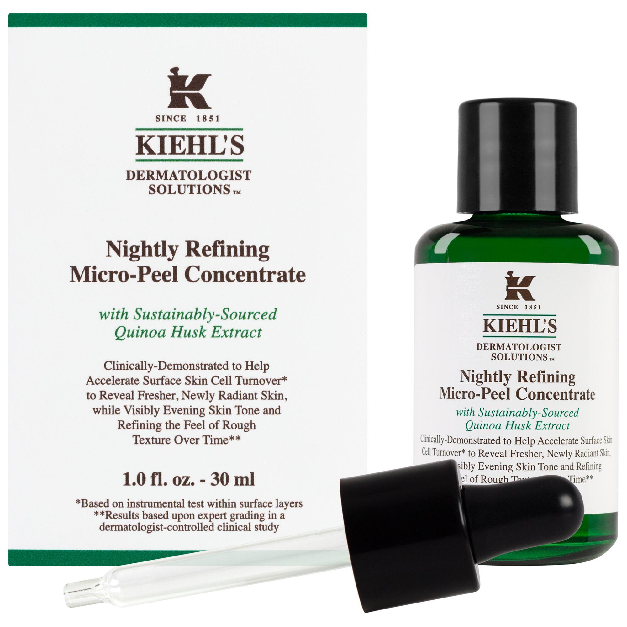 Kiehls Kiehl's Nightly Refining Micro-Peel Concentrate, 30ml