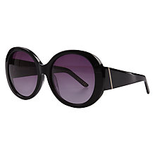 Buy John Lewis Chunky Glam Round Sunglasses Online at johnlewis.com