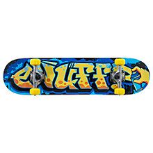 Buy Enuff Graffiti Skateboard, Orange/Blue Online at johnlewis.com