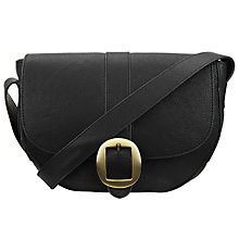 Buy John Lewis Sophia Leather Saddle Bag Online at johnlewis.com