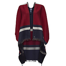 Buy Tommy Hilfiger Classic Tommy Stripe Cape, Navy Blazer Multi Online at johnlewis.com