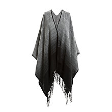 Buy Max Studio Ombre Poncho, Grey Online at johnlewis.com
