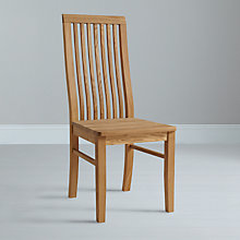 Buy John Lewis Henry Wooden Seat Dining Chair Online at johnlewis.com