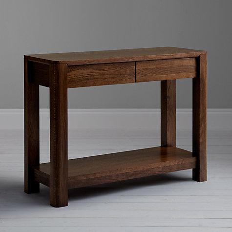 Buy john lewis seymour console table john lewis for Sofa table john lewis