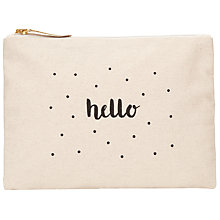 Buy Des Petits Hauts Ohlala Hello Purse, Ecru Online at johnlewis.com