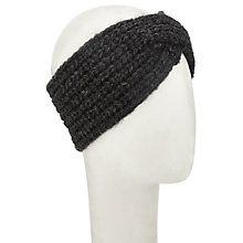 Buy Numph Eustada Knitted Headband, Grey Online at johnlewis.com