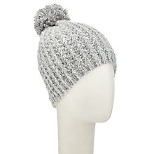 Buy Numph Ancyra Bobble Hat, Grey Online at johnlewis.com