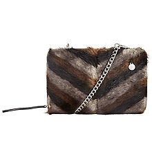 Buy Urbancode Wow Faux Fur Clutch, Multi Online at johnlewis.com