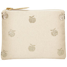 Buy Des Petits Hauts Oscarita Apple Purse, Ecru Online at johnlewis.com