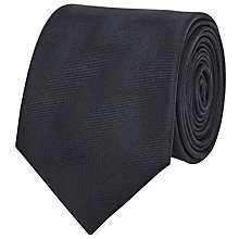 Buy Reiss Larry Tonal Patterned Silk Tie Online at johnlewis.com