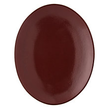 Buy John Lewis Fusion Kainoosh Oval Platter, Mulberry Online at johnlewis.com