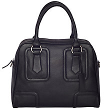 Buy Chesca Large Leather Bowling Bag Online at johnlewis.com