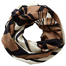 Buy Pure Collection Fan Print Keaton Silk Snood, Multi Online at johnlewis.com