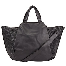 Buy Liebeskind Noda Trio Weave Tote Bag, Ninja Black Online at johnlewis.com