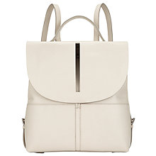 Buy Kin by John Lewis Ara Leather Backpack Online at johnlewis.com