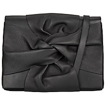 Buy John Lewis Effie Bow Across Body Bag, Black Online at johnlewis.com