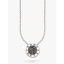 Buy Thomas Sabo Glam & Soul Signature Zirconia Pavé Necklace Online at johnlewis.com
