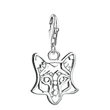 Buy Thomas Sabo Sterling Silver Fox Charm, Silver Online at johnlewis.com
