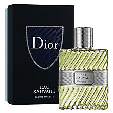 Buy Dior Eau Sauvage 100ml Eau de Toilette Christmas Gift Box Online at johnlewis.com