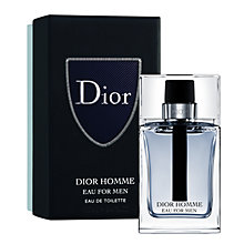 Buy Dior Homme Eau for Men 100ml Eau de Toilette Christmas Gift Box Online at johnlewis.com