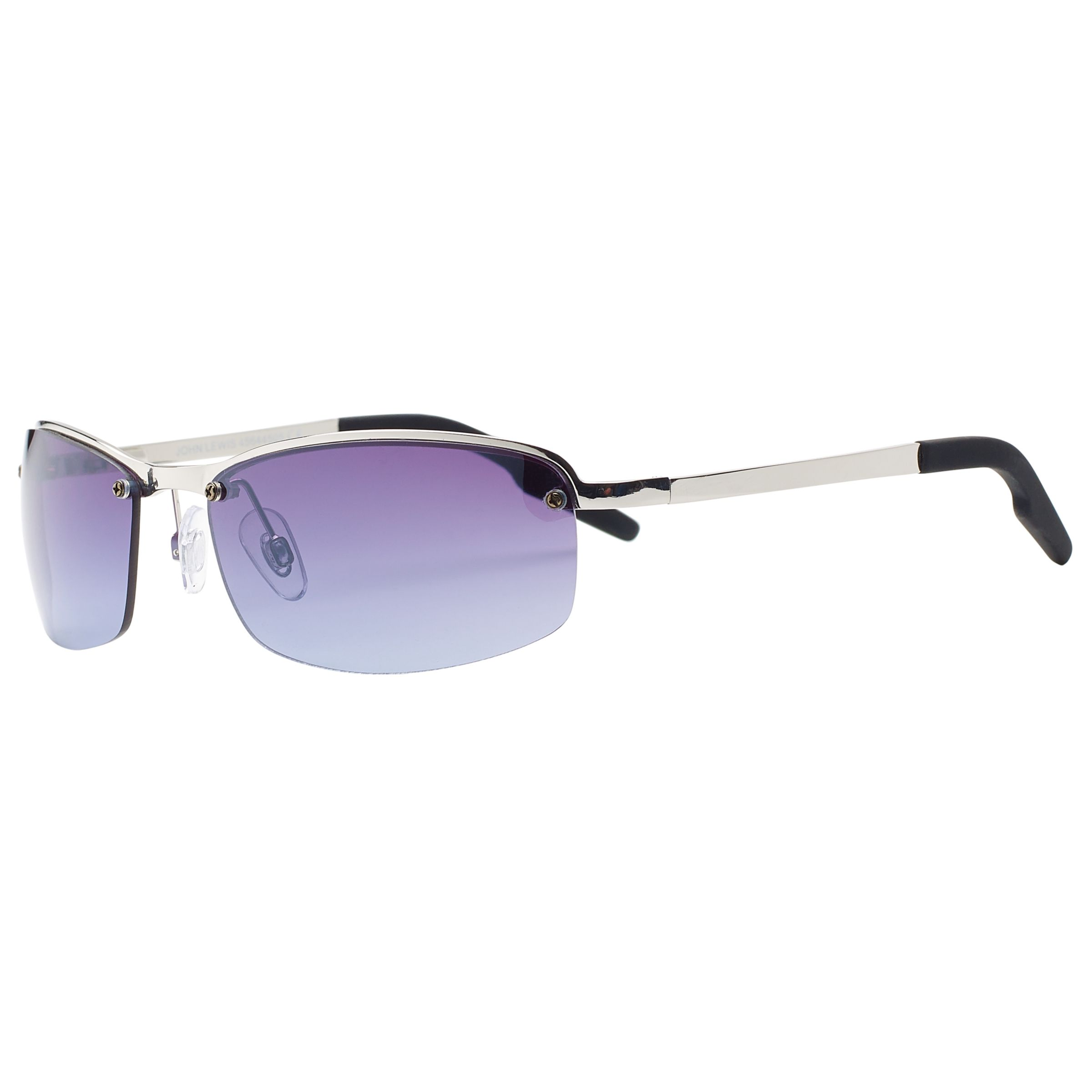 Rimless Glasses Philippines : Buy John Lewis Rimless Metal Sports Wrap Sunglasses ...