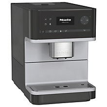 Buy Miele CM6110 Bean to Cup Automatic Coffee Machine, Black Online at johnlewis.com