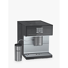 Buy Miele CM7300 Bean-To-Cup Coffee Machine, Black Online at johnlewis.com
