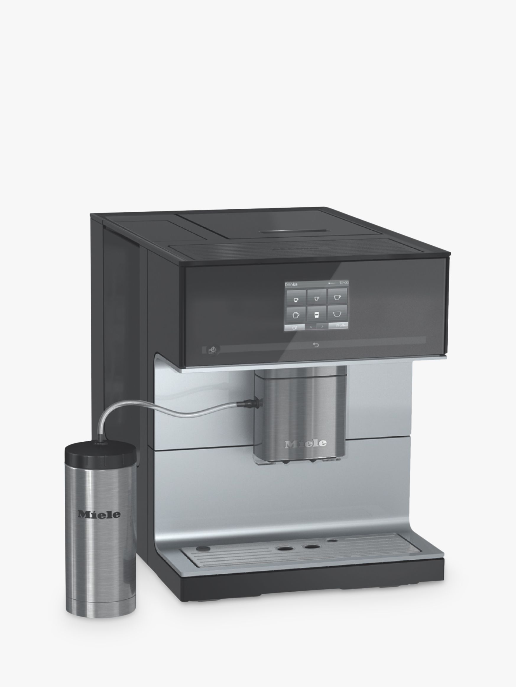 John Lewis Hob Coffee Maker : Buy Miele CM7300 Bean-to-Cup Coffee Machine, Black John Lewis