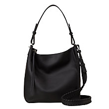 Buy AllSaints Kita Crossbody Bag, Black Online at johnlewis.com