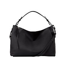 Buy AllSaints Kita East West Tote Bag, Black Online at johnlewis.com